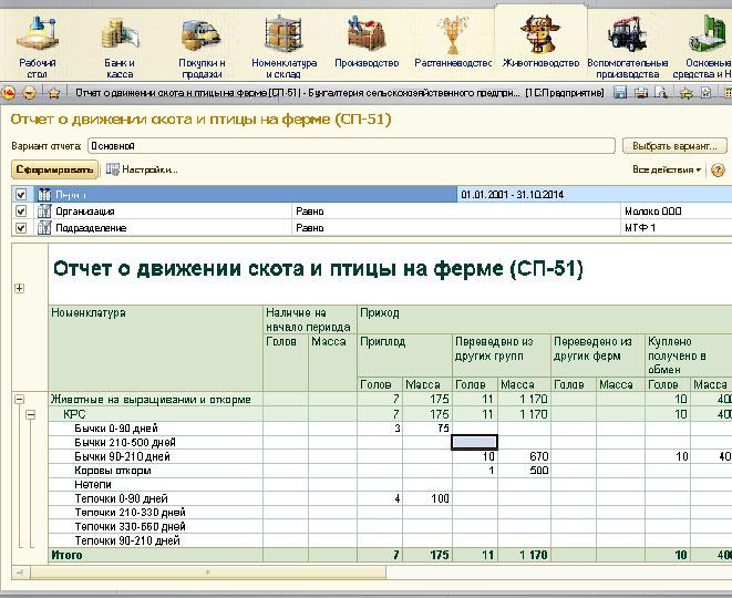 программа1с для сельхоз предприятий